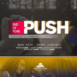 END OF YEAR PUSH program 2017