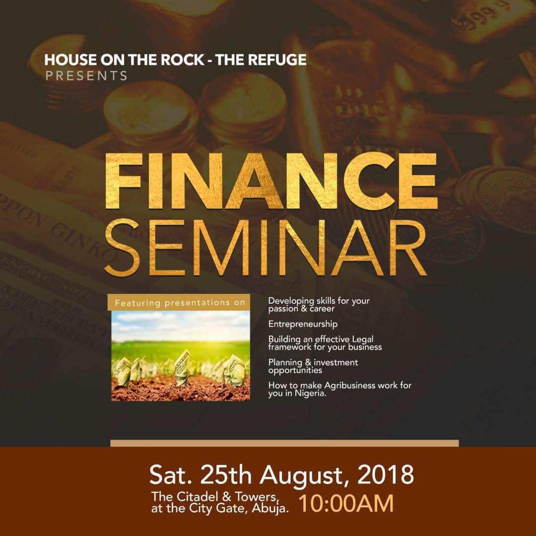 Finance Seminar