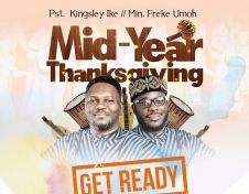 Mid Year Thanksgiving Celebration