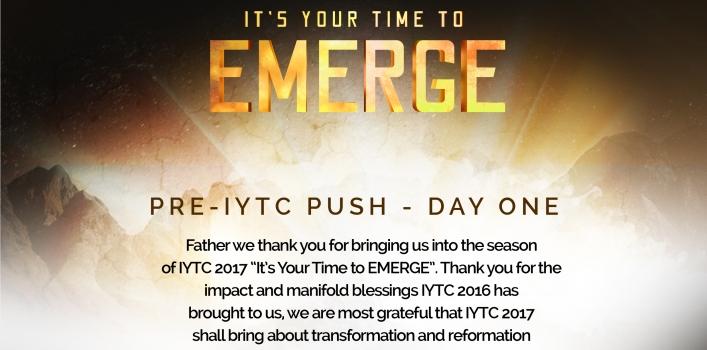 Pre IYTC PUSH day 1