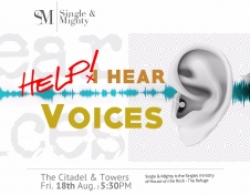 Single and Mighty Fellowship – Help! I hear voices