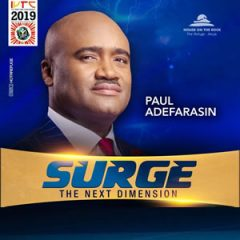 Even When You Don't See Anything, Go – Pst Paul Adefarasin IYTC2019 Day5