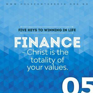 5 Keys To Winning In Life (Finance) – Pst Paul Adefarasin 10th May 2020