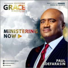 Word Conference Day 5 – Pst Paul Adefarasin 19th July 2020