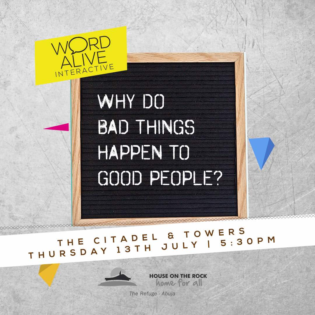 Word Alive Interactive - Why do bad things happen to good people