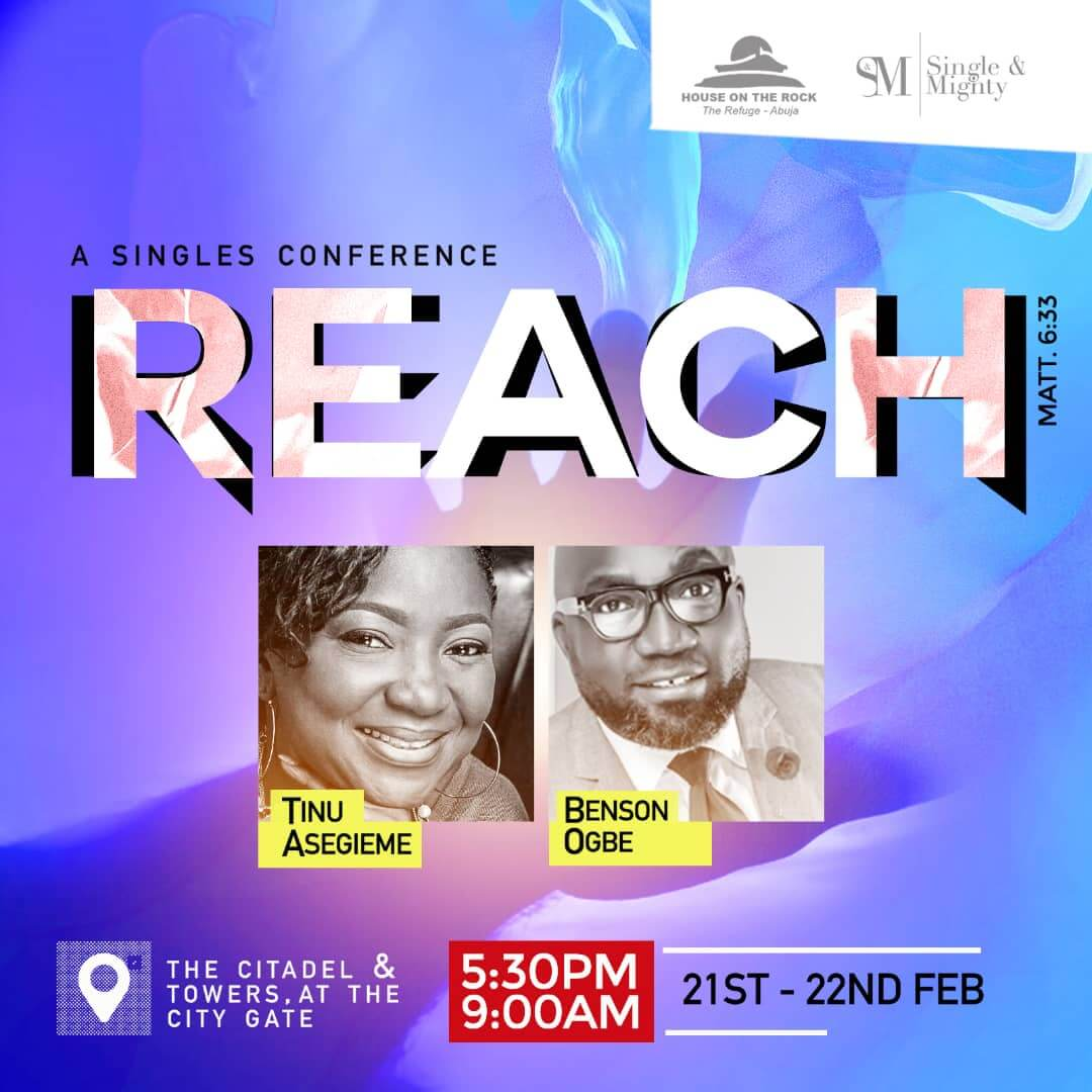 Singles & Mighty Conference - REACH