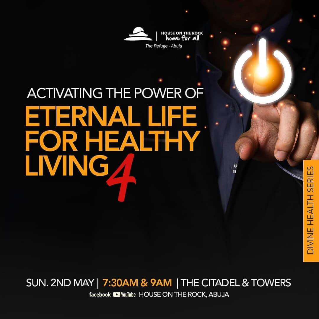 Activate the power of eternal life