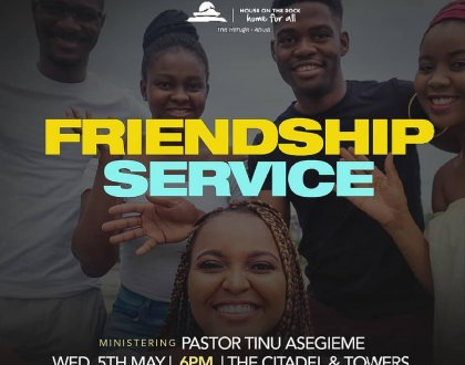 friendship week April 2021