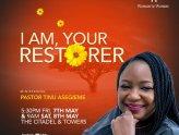 T am your restorer - Pst Tinu Asegieme