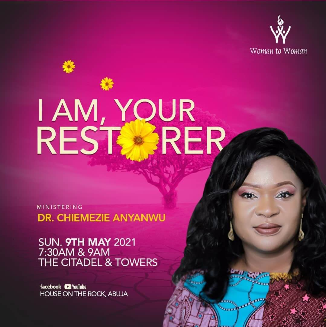 I am your restorer - Dr Chimezie