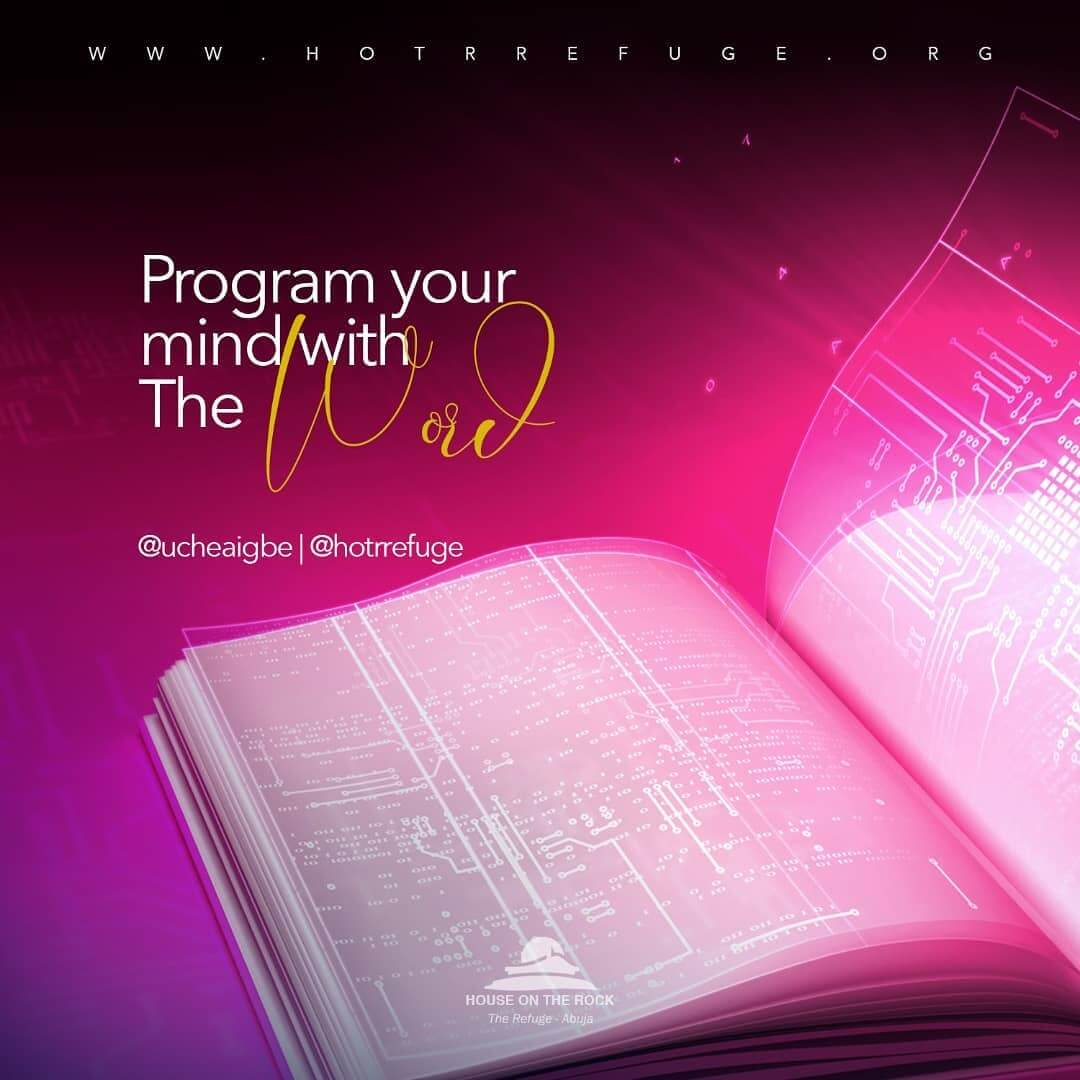 program your mind with the word